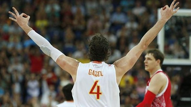 Pau Gasol Espaa Rusia