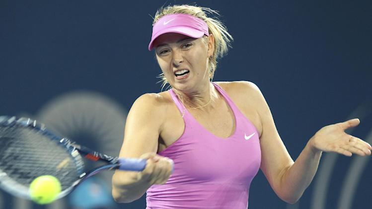 Sharapova returns with convincing win in Brisbane