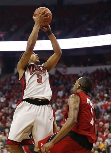 No. 18 UNLV upends Jacksonville State 77-58