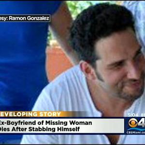 Ex-Boyfriend Of Missing Woman Dies After Stabbing Himself