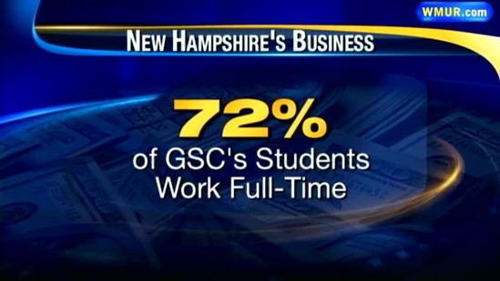 92 percent of college graduates tend to stay in NH