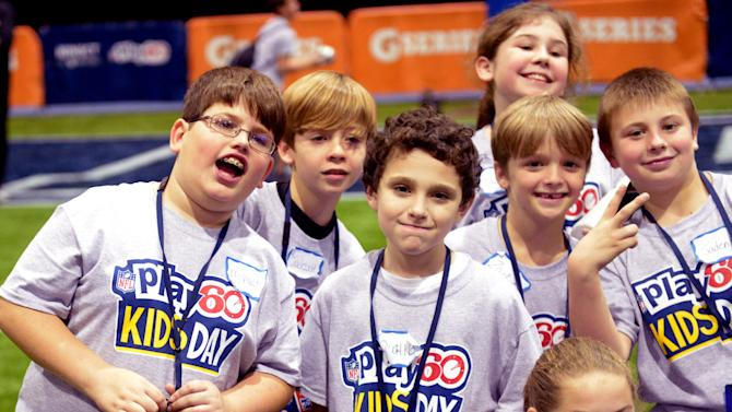 NFL: Super Bowl XLVII-Play 60 Kids Day