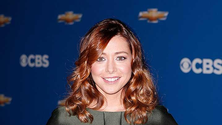 Alyson Hannigan CBS Press Tour