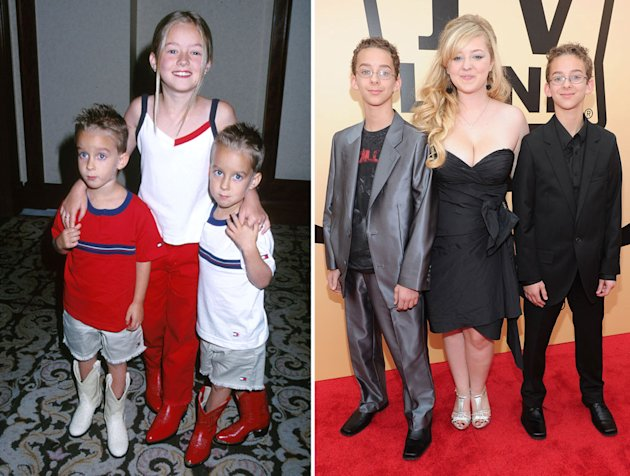 Sawyer and Sullivan Sweeten http://tv.yahoo.com/photos/emmys-where-are-they-now-child-stars-of-tv-favorites-1348012030-slideshow/sawyer-madylin-sullivan-sweeten-photo-1348009923.html