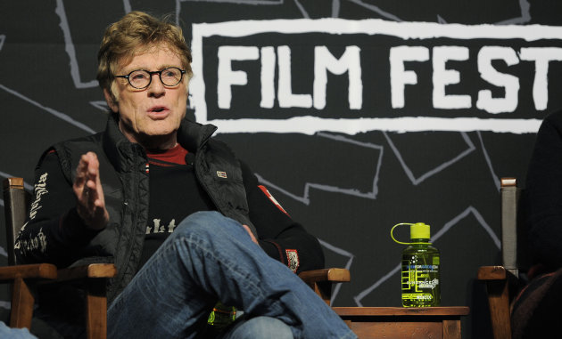 <p>               Robert Redford, founder and president of the Sundance Institute, speaks during the opening news conference of the 2013 Sundance Film Festival, Thursday, Jan. 17, 2013, in Park City, Utah. (Photo by Chris Pizzello/Invision/AP)