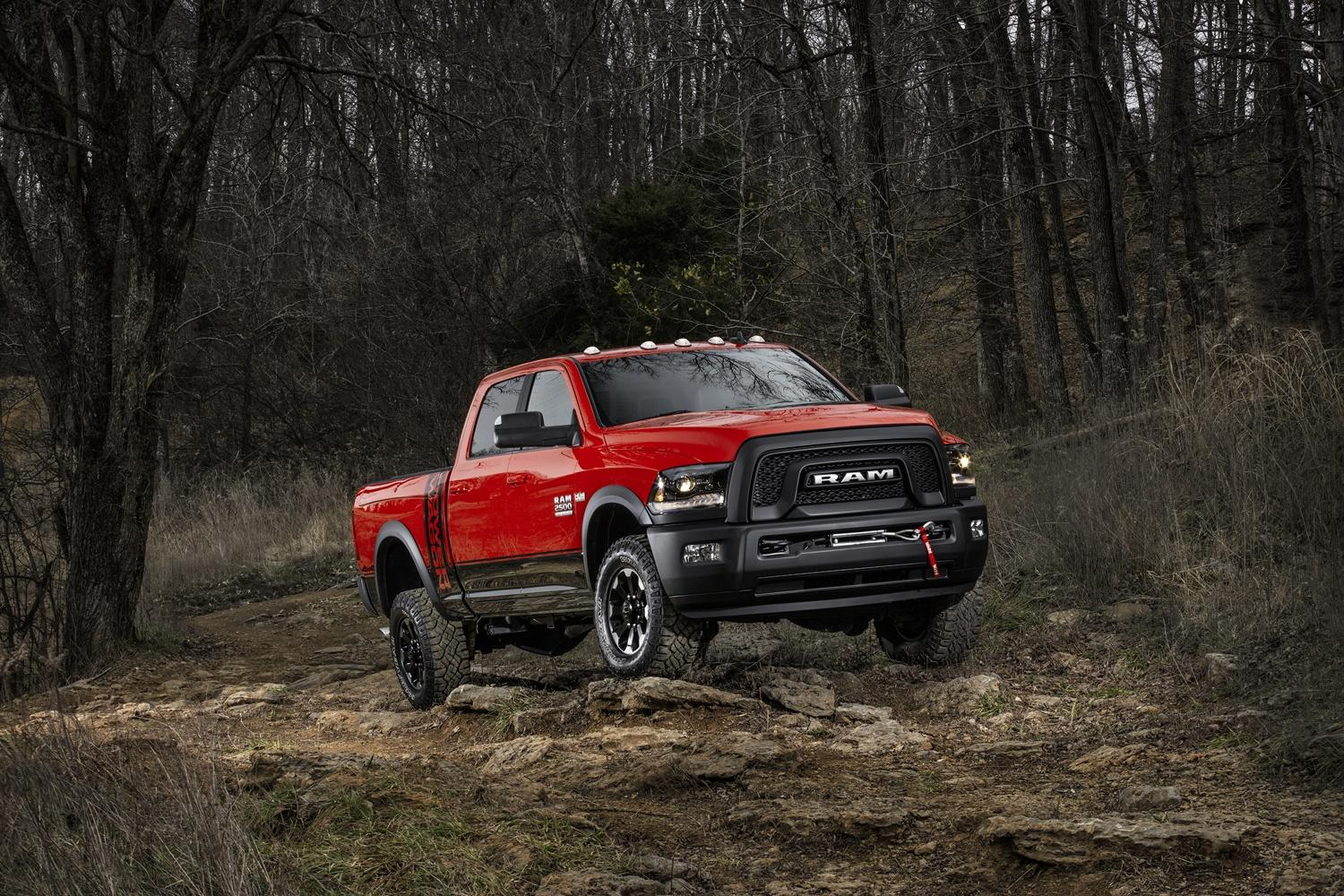 Ram's burly 2017 Power Wagon storms into the Chicago show