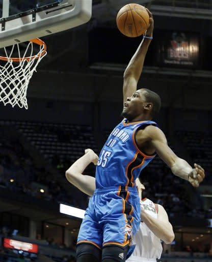 Westbrook scores 26, Thunder beat Bucks 109-89