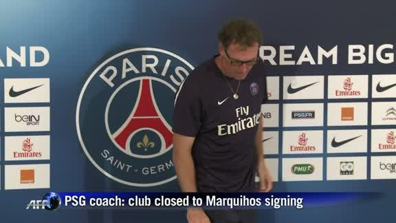 PSG coach says club homing in on Marquinhos signing