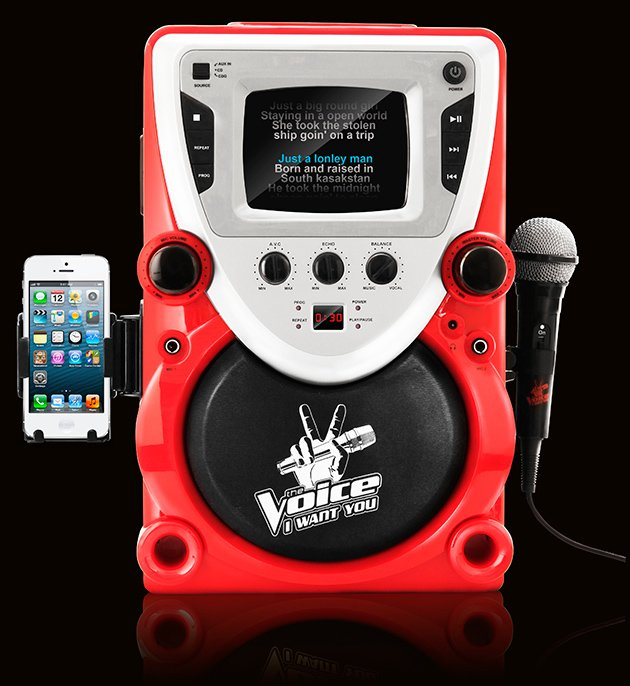 The Voice Karaoke Machine