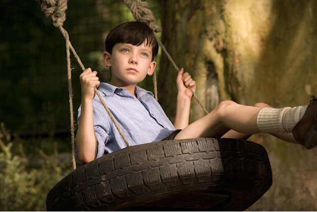 Asa Butterfield The Boy in the Striped Pajamas Production Stills Miramax 2008