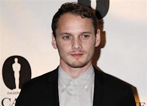 Anton Yelchin poses during ceremonies for Academy of Motion Picture Arts & Sciences Nicholl Fellowships in Screenwriting awards in Beverly Hills