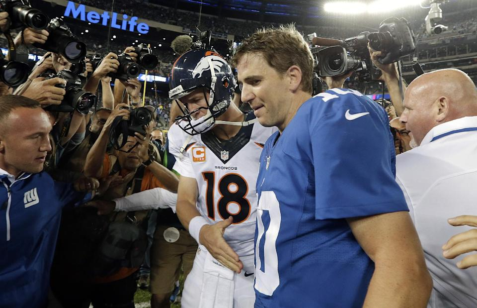 Manning Bowl belongs to Peyton - again