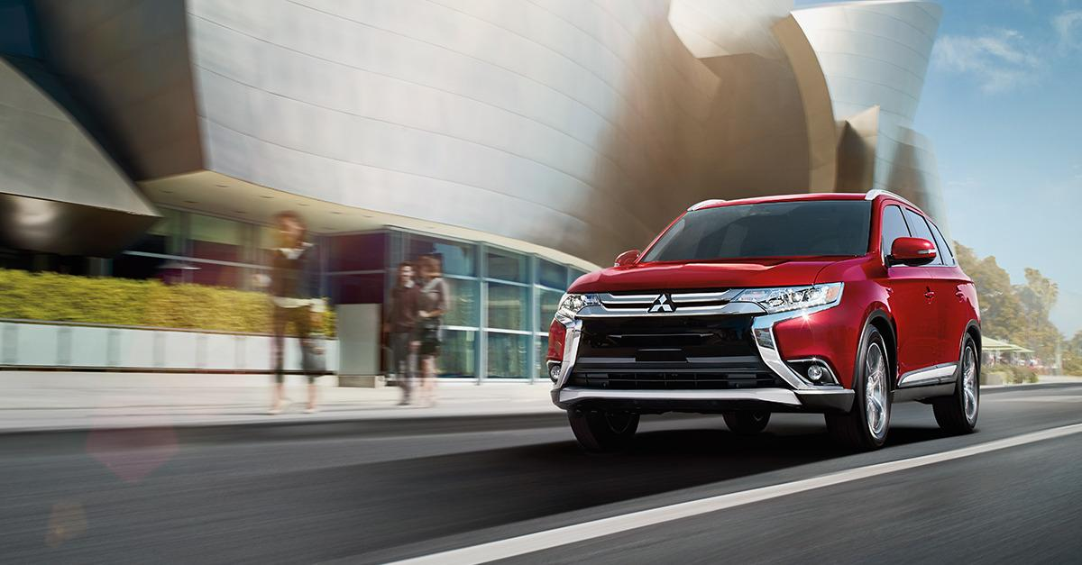 The New 2016 Mitsubishi Outlander