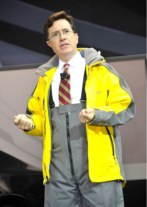 Stephen Colbert NY Suto Show