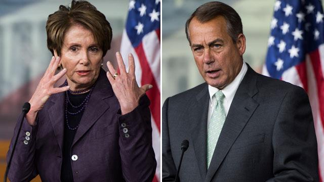 Boehner, Pelosi Hint at Next Showdowns in Congress