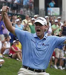 Stricker win gives him momentum for British Open