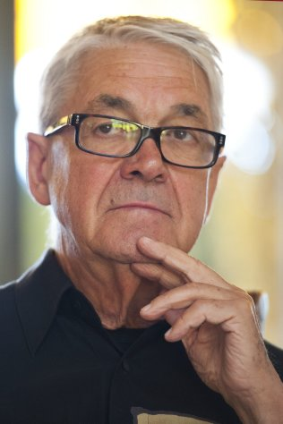 FILE - In this July 15, 2011 file photo Swiss Claude Nobs, founder and director of the Montreux Jazz Festival, speaks during the closing press conference during the 45th Montreux Jazz Festival, in Montreux, Switzerland. The Jazz Festival said Nobs, a native of Montreux, died Thursday Jan. 10, 2013 after sustaining injuries from a fall while cross-country skiing in nearby Caux-sur-Montreux on Christmas Eve. He was taken to the hospital and fell into a coma from which he never recovered. (AP Photo/Keystone, Laurent Gillieron, File)
