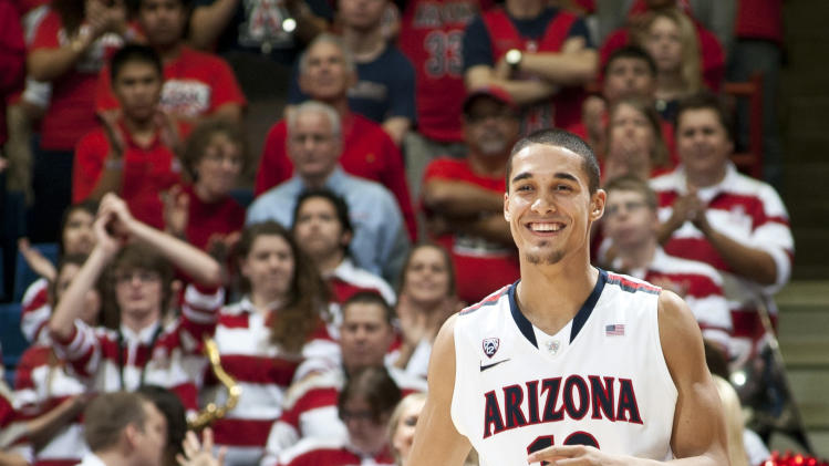 NCAA Basketball: Southern California at Arizona