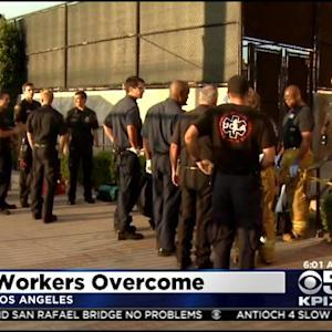6 UCLA Workers Cleaning Up Flood Suffered From Carbon Monoxide Poisoning