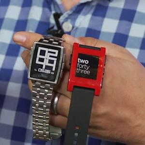 Pebble Time: a smartwatch with a longer battery life