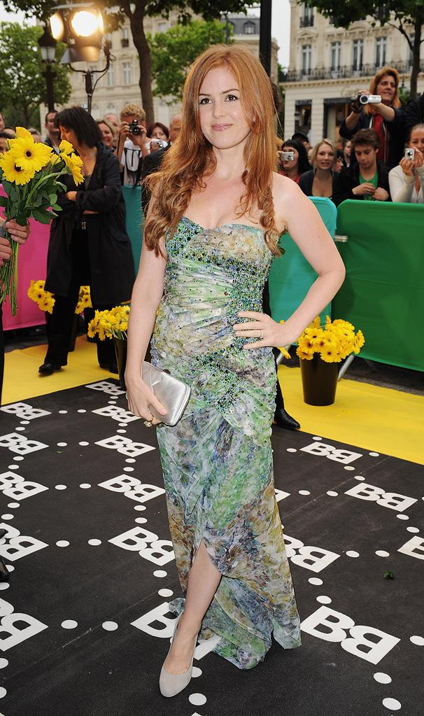 Bruno Paris Premiere 2009 Isla Fisher