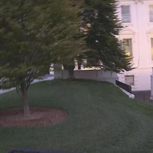 White House goes on lockdown after man jumps fence