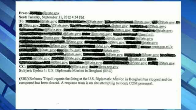 Libyan terror link revealed in State Department e-mails