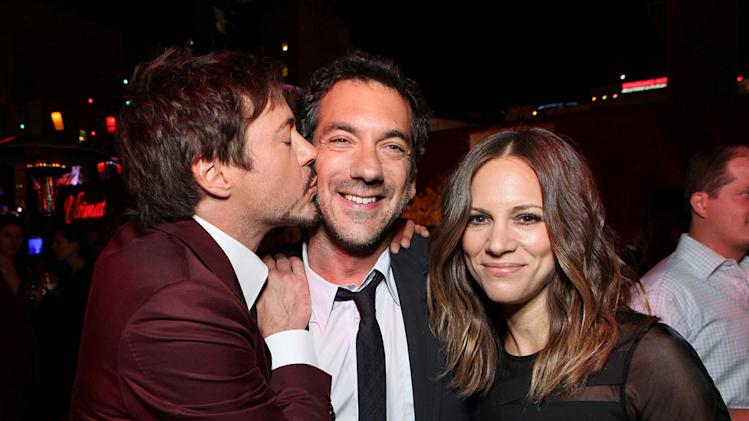 The Hangover Part II LA Premiere 2011 Robert Downey Jr. Todd Phillips Susan Downey