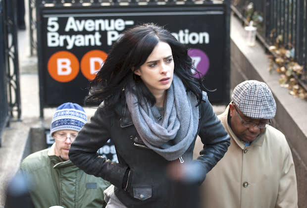 Is Jessica Jones a Super-Easy Costume? Is Glenn Still a Dead Man? How Will Who Bring Clara Back? And More TV Qs