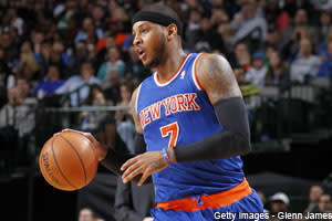 Dose: Carmelo Anthony's Knee