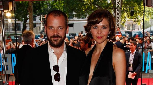 The Dark Knight UK Premiere 2008 Peter Sarsgaard Maggie Gyllenhaal
