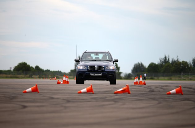 Our blogger Cheryl Tan tries three different driving experiences. (Photo credit www.Cheryl-Tay.com)