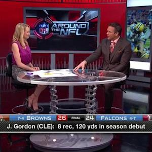 Surprised with Cleveland Browns wide receiver Josh Gordon's impact in first game back?