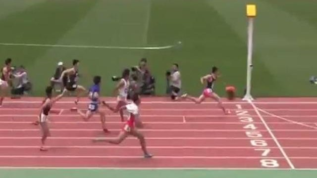 Japanese teen sets new 100m youth record