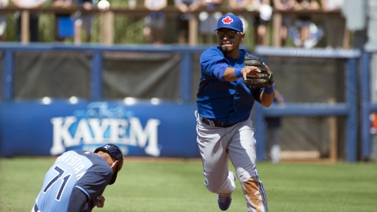 MLB: Spring Training-Toronto Blue Jays at Tampa Bay Rays