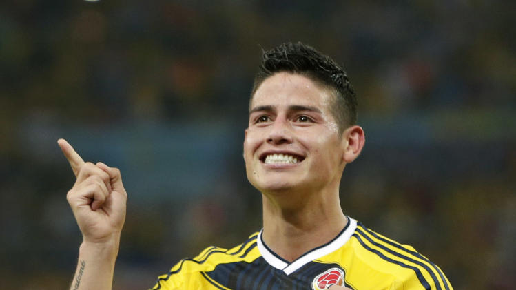 James Rodriguez signs 6-year deal with Real Madrid