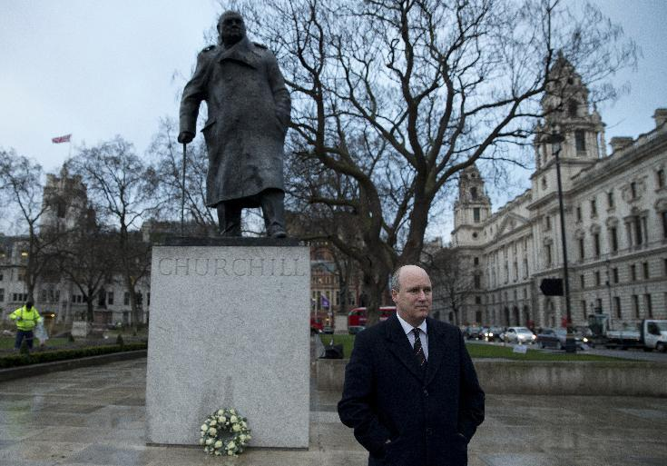 Britain marks 50th anniversary of Churchill's funeral