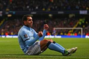 Tevez hints at longer Manchester City stay