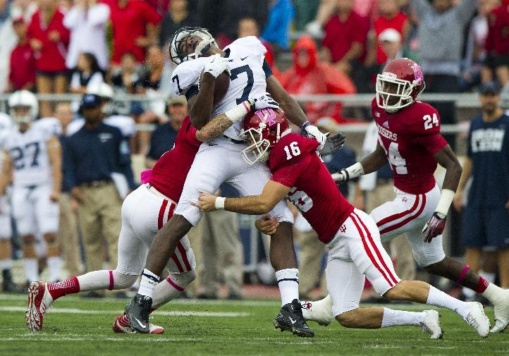Indiana finds way to finally beat Penn St. 44-24