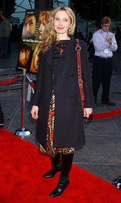 Julie Delpy at the Hollywood premiere of Warner Independent Pictures' We Don't Live Here Anymore