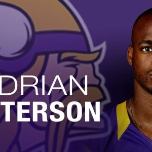 Adrian Peterson 'Moving Forward' with Vikings