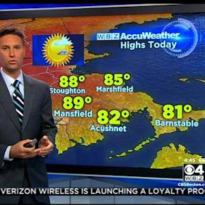 WBZ AccuWeather Forecast For July 22