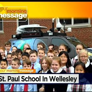 WBZ Morning Message: St. Paul School In Wellesley