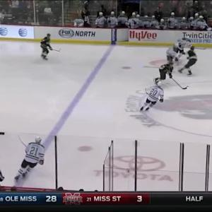 Pominville rockets slap shot past Niemi