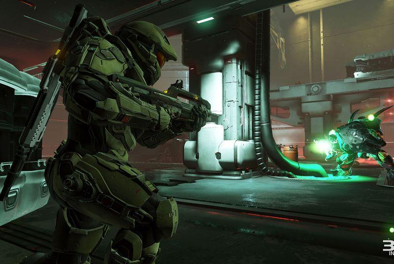 Halo 5's intro looks like a Linkin Park video from 2002