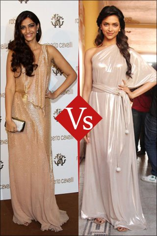 Fashion Face-Off: Sonam Kapoor And Deepika Padukone