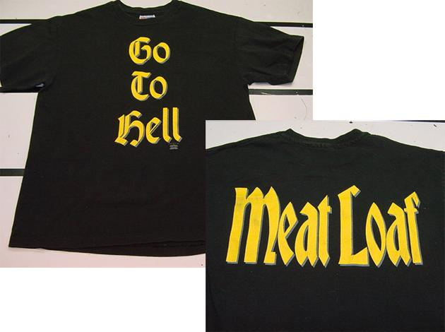 Meatloaf shirt