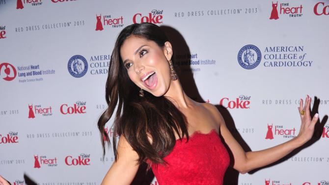 Roselyn Sanchez attends the Red Dress Collection 2013 Fashion Show, on Wednesday, Feb. 6, 2013 in New York. (Photo by Charles Sykes/Invision/AP)