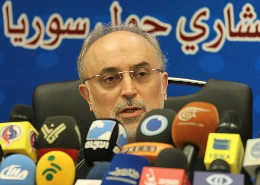 Iranian Foreign Minister Ali Akbar Salehi addresses media in Tehran on August 9 as Iran hosted a 29-nation conference on Syria. Iran and Egypt are moving towards restoring diplomatic relations which were severed more than three decades ago, Salehi said in an interview published on Tuesday