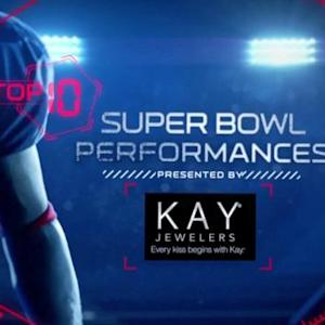 Top 10 Super Bowl Performances